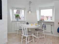 瑞典哥德堡85平米阁楼公寓设计