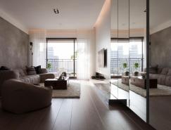 简约舒适的现代公寓装修