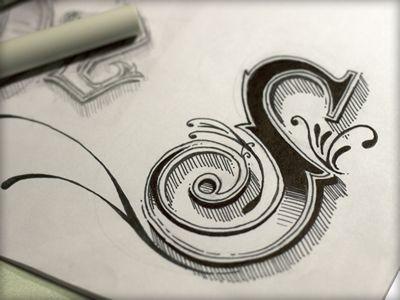 手绘素描图标设计(3)