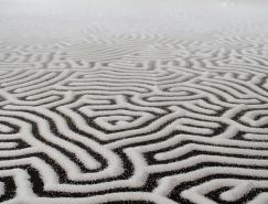 日本艺术家YamamotoMotoi:盐绘创作艺术