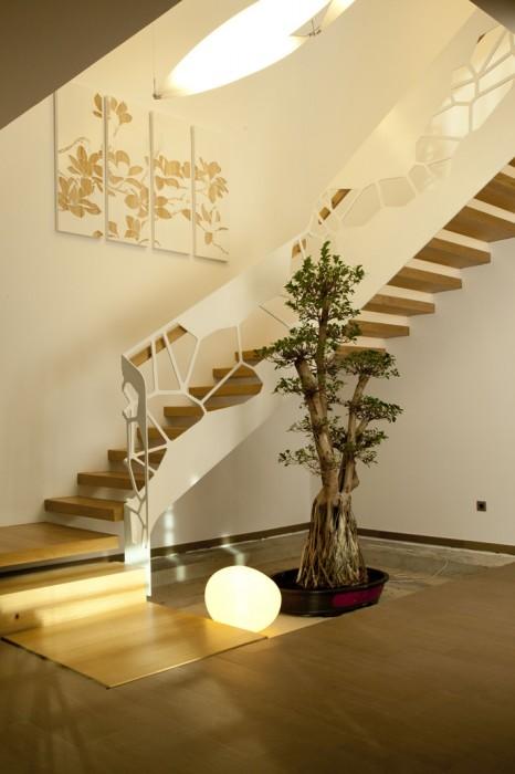 10个漂亮的室内楼梯设计