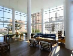 挑高天花板的室内兴旺国际娱乐