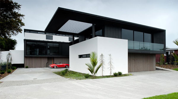 安静而精致的新西兰Lucerne住宅设计