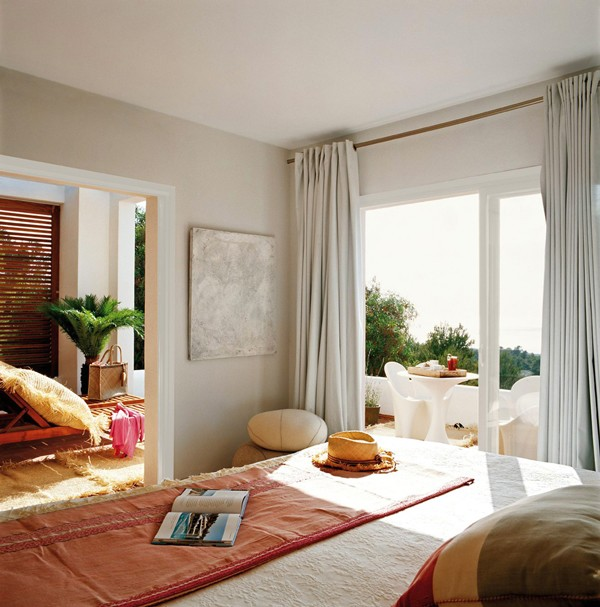 西班牙Ibiza岛:豪华的地中海风格别墅