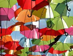 葡萄牙Agueda雨伞装置艺术