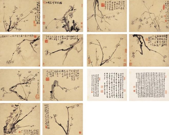 李方膺绘画作品欣赏