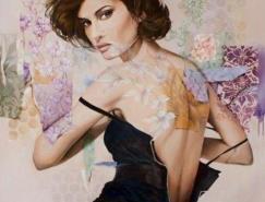 WendyNg女性肖像绘画艺术