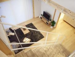 日本极简风格的开放式住宅设