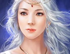 中國插畫師phoenixlu人物角色插畫