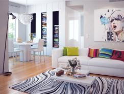 清新而温馨的家居装修设计