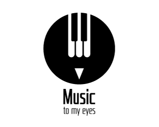 标志设计元素运用实例:钢琴