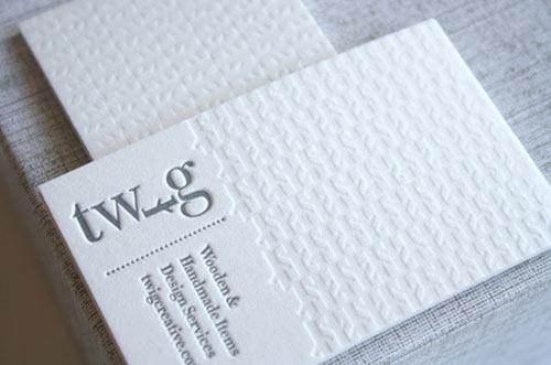 漂亮的字体排版设计:40款国外名片欣赏