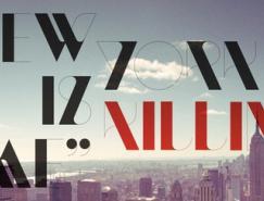 国外优秀字体设计作品集(4)