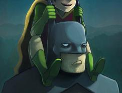 Ry-Spirit:游戏和卡通人物插画