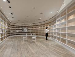 图书馆式的咖啡馆:东京星巴克概念店