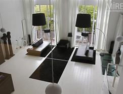MiresParis:黑与白的家居装
