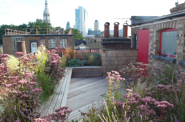 30个漂亮的屋顶花园设计