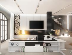 <b>23个国外漂亮的客厅设计</b>