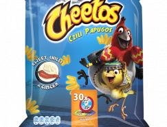 Cheetos薯片包装设计