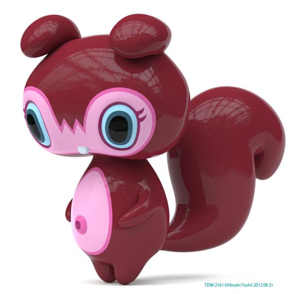 可爱的玩具公仔设计
