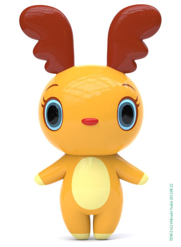 hiroshiyoshii可爱的玩具公仔设计