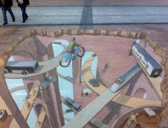 阿根廷藝術家EduardoRelero街頭3D繪畫藝