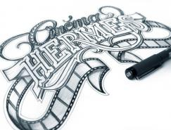 瑞典设计师MartinSchmetzer创意字体设计