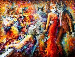 LeonidAfremov油画作品欣赏