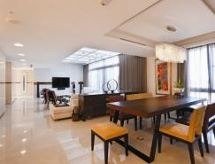 现代时尚的开放式住宅设计