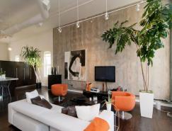 融细节与艺术于一体:盐湖城舒适的Loft设计