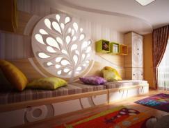 充满活力的颜色和纹理:儿童卧室设计