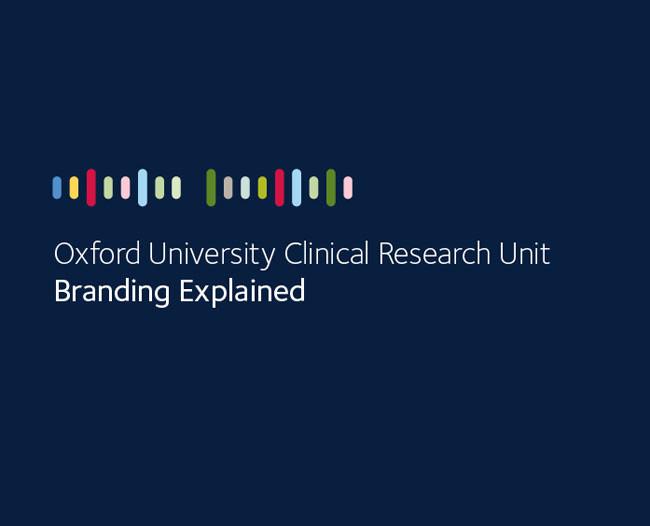 品牌形象设计:牛津大学临床研究机构(OUCRU)