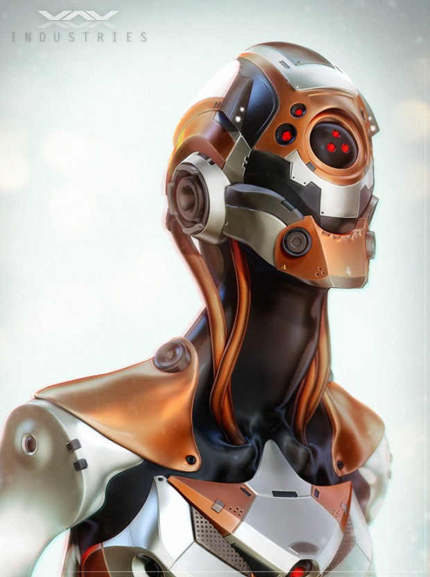 芬兰Kallo创意3D概念角色设计