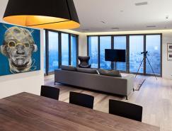 以色列特拉维夫150平米白色豪华公寓