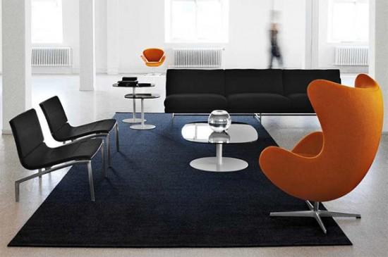 雅各布森经典设计作品:蛋椅(egg chair)(3)