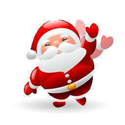 圣诞老人PNG图标