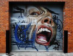 澳大利亞adnate街頭藝術作品