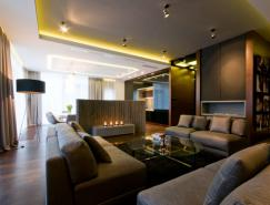 华沙200平米大气简约的现代公寓设计
