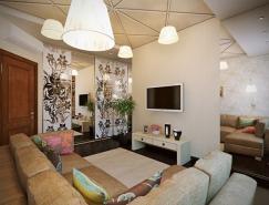 唯美女人味的溫馨舒適家居裝修設計