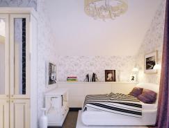 EugeneZhdanov青少年卧室设计
