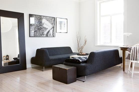 国外黑白风格室内装修欣赏