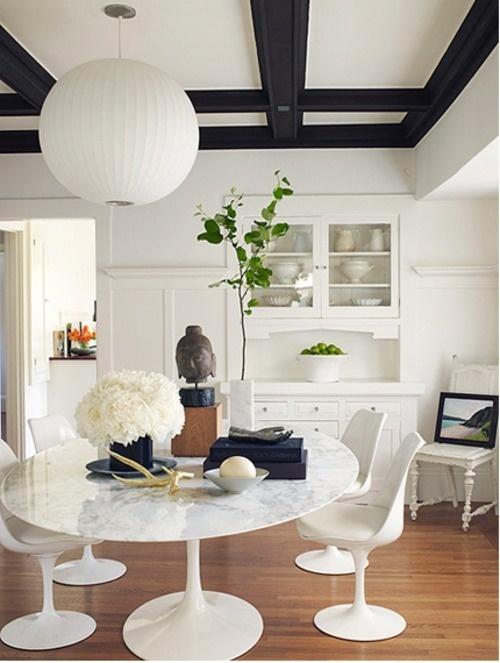 国外黑白风格室内装修欣赏(3) - 设计之家