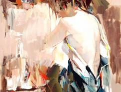 JosefKote女性人物油画作品