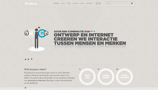 23个漂亮的单页面网站设计