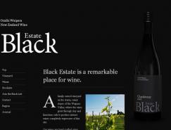 25个漂亮的黑色主题网站欣赏