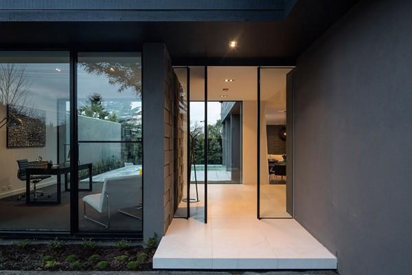 墨尔本现代简约风格别墅设计