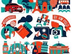 跟着POLO游欧洲:俄罗斯插画家IvOrlov作品欣赏