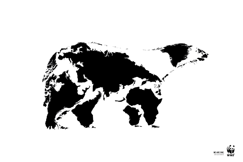 wwf保护动物公益广告 图片