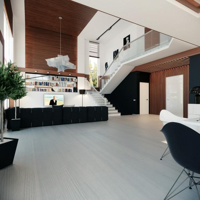 国外现代客厅设计欣赏(3)