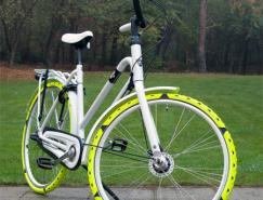 荷兰,体育投注师CesarVanRongen:自行车防滑套